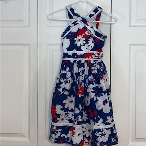 The Children's Place - Red, White, and Blue dress
